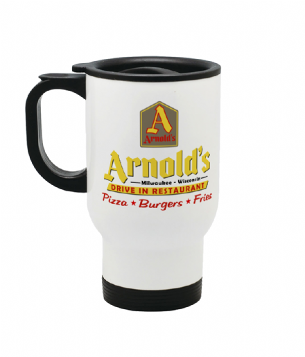 Arnolds Drive in Restaurant From Happy Days Design Travel Coffee Mug